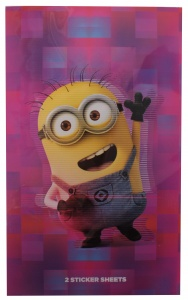 Minions stickers 108-delig