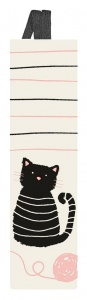 Moses bookmark Libri_x with elastic miau white