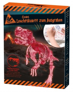 Moses dinosaurus opgravingsset glow in the dark T-Rex