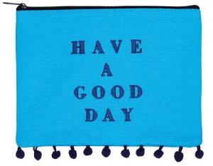 Moses case Have a Good Day blue 20 x 15 cm