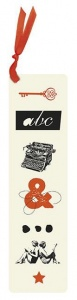 Moses Libri_x bookmark abc 17,5 cm