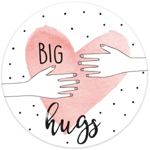 Moses magneet Big Hugs 5,5 cm rond