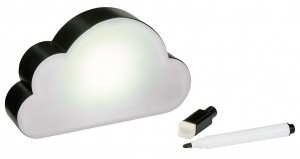 Moses magneet happy me LED wolk met stift
