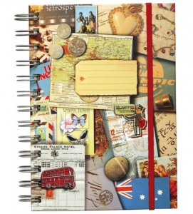 Moses travel diary 17 x 13,5 cm