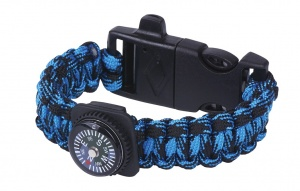 Moses survival bracelet Expedition 25 cm blue