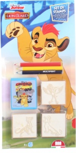 Multiprint kleurset Lion Guard 7-delig
