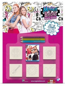 Multiprint coloring set Maggie & Bianca 9-pieces