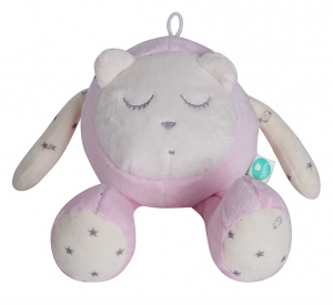 myHummy snoozy sleep sensor junior 23 cm poly cotton pink 4-piece