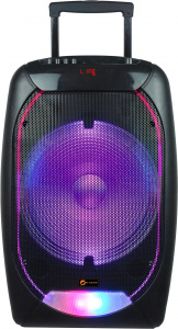 N-Gear bluetoothspeaker The Flash 1510 trolley 500W zwart