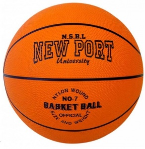 New Port Basketbal Oranje Maat 7