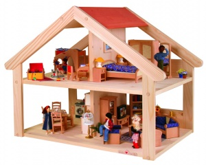 Nic doll's house Primera58,2 cm 4 rooms