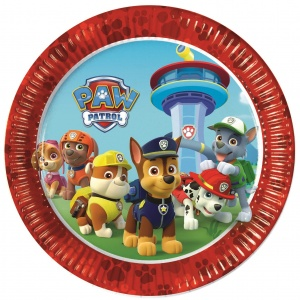 Nickelodeon party boards Paw Patrol 23 cm 8 pieces