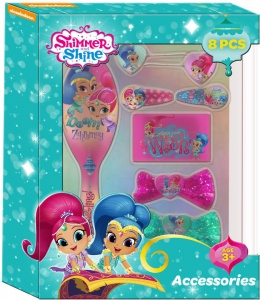 Nickelodeon haaraccessoires Shimmer and Shine 8-delig roze