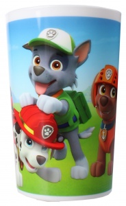 Nickelodeon Patrouille Patrol cup plastique blanc 220 ml