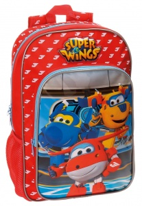 Nickelodeon rugzak Super Wings 11 liter rood