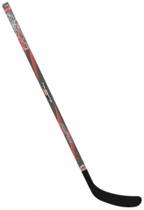 Nijdam Junior Hockeyschläger schwarz / orange 137 cm R