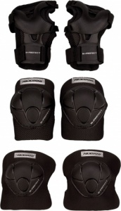 Nijdam Junior Protection Set N-Protect schwarz