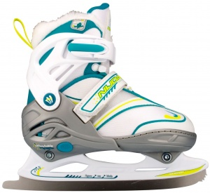 Nijdam Junior Figure Skate 3140 Adjustable White
