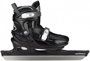 Nijdam ice skates junior black