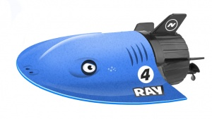 Ninco RC ray Nincocean Submarino Ray 14 cm blau
