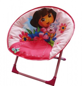 Outdoor Fun House Dora camping chair 53 x 56 x 43 cm pink