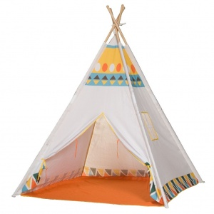 Outdoor Play Indianen tipitent 120 cm wit