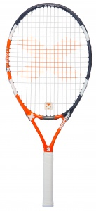 Pacific tennisracket X Team 1.25 junior oranje/zwart