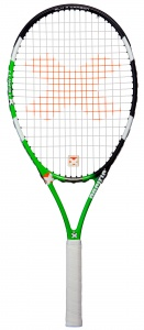 Pacific tennisracket X Team 1.35 junior groen/zwart