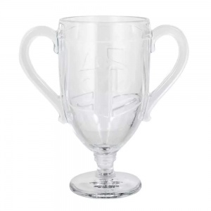 Paladone glas Playstation Trophy 450 ml transparant