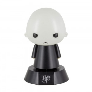Paladone lamp Harry Potter: Voldemort Icon Light 10 cm wit/zwart