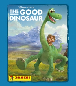 Panini stickers The Good Dinosaur 5 stuks