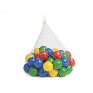 Paradiso Toys ball balls 50 pieces 6 cm