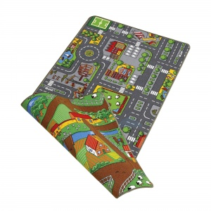Paradiso Toys speelkleed Duoplay 2-in-1 67 x 100 cm