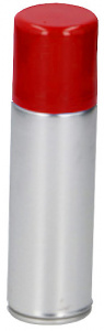 Party Time hairspray Color 125 ml aluminium rood