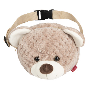 Perletti Belt bag Milly Bear 0,4 liter bruin