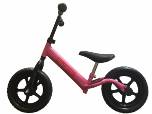 Pexkids Kinder Scooter Loopfiets 12 Inch Girls Pink