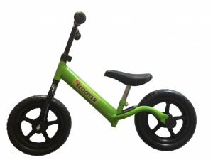 Pexkids Kinder Scooter Loopfiets 12 Inch Boys Green