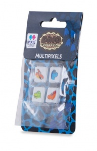 Pixie crew multipixels dinosaur 4 pieces blue