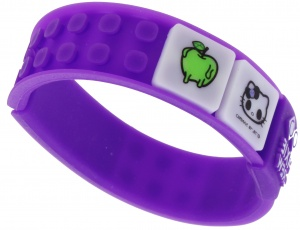 Pixie crew pixel armband Hello Kitty paars 35-delig