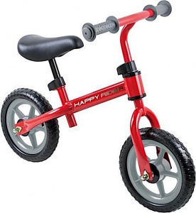 Playfun loopfiets Happy Rider 12 Inch Junior Vrijloop Rood