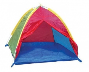 Playfun Speeltent 116 x 116 x 84 cm multicolor