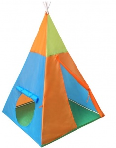 Playfun speeltent indianen tipi 100 x 100 x 142 cm multicolor