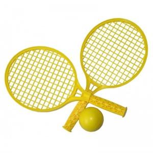 86161b6338ba Playfun tennis set yellow 3-piece 37 cm
