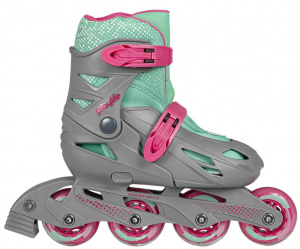 Playlife inlineskates Playlife Riddler junior grijs maat 27-30-S