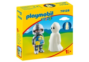 PLAYMOBIL 1, 2, 3 - Ridder en spook (70128)