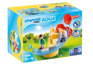 PLAYMOBIL 1, 2, 3 - Waterglijbaan (70270)