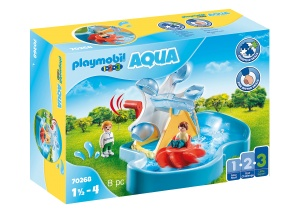 PLAYMOBIL 1, 2, 3 - Waterrad met carrousel (70268)