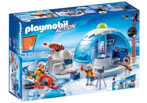 playmobil action hoofdkwartier poolexpeditie 9055