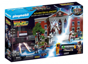 PLAYMOBIL Back to the Future: adventskalender (70574) junior
