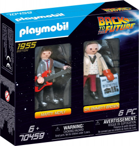 PLAYMOBIL Back to the Future: (70459DuoPack) junior PC 6-piece